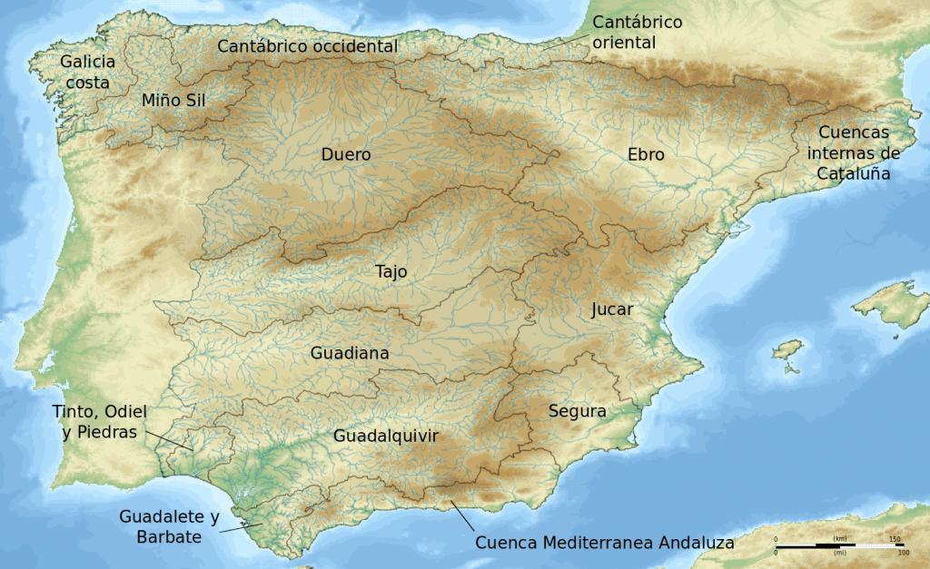 Ríos península ibérica