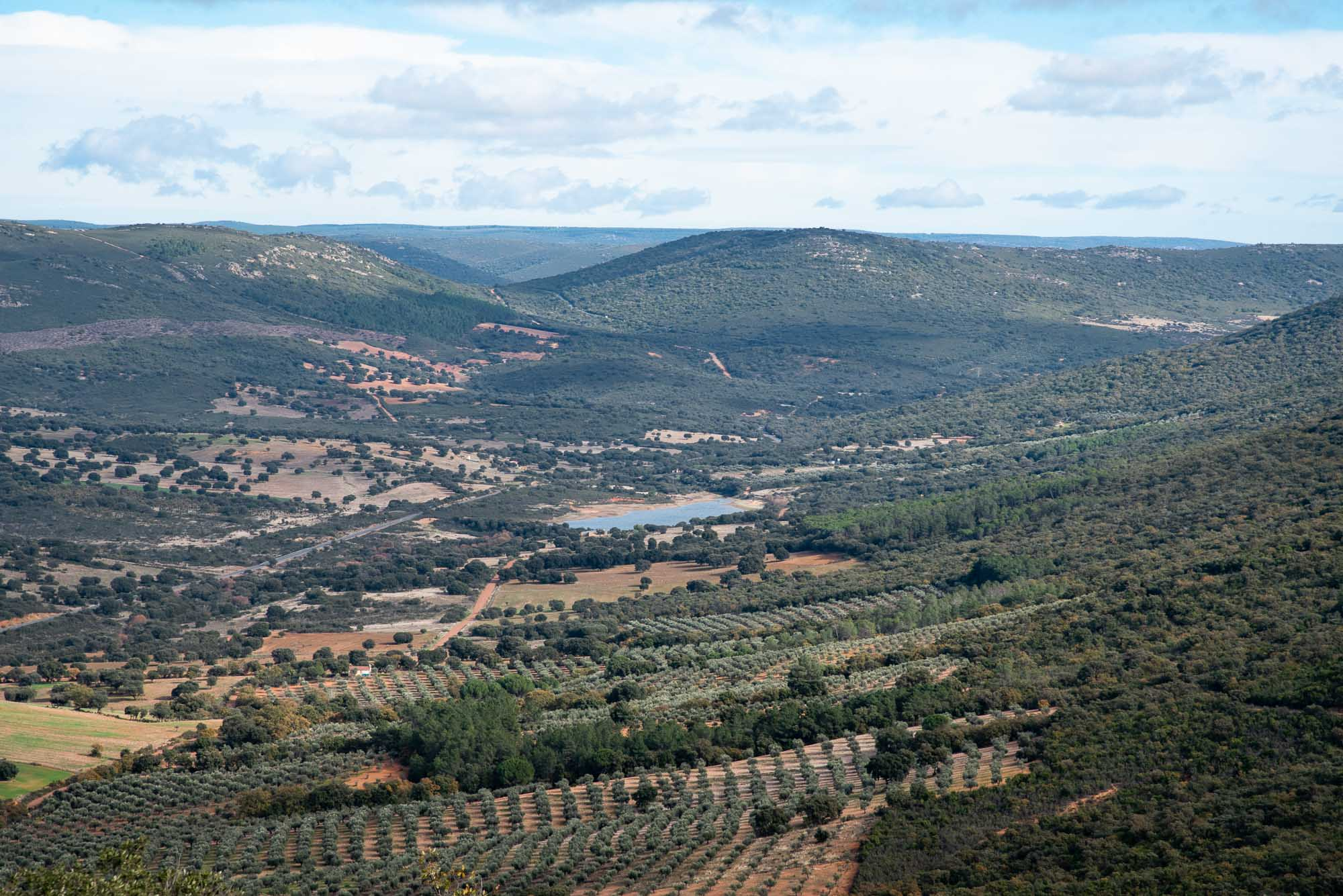 Panoramica cima plaza de los moros 2