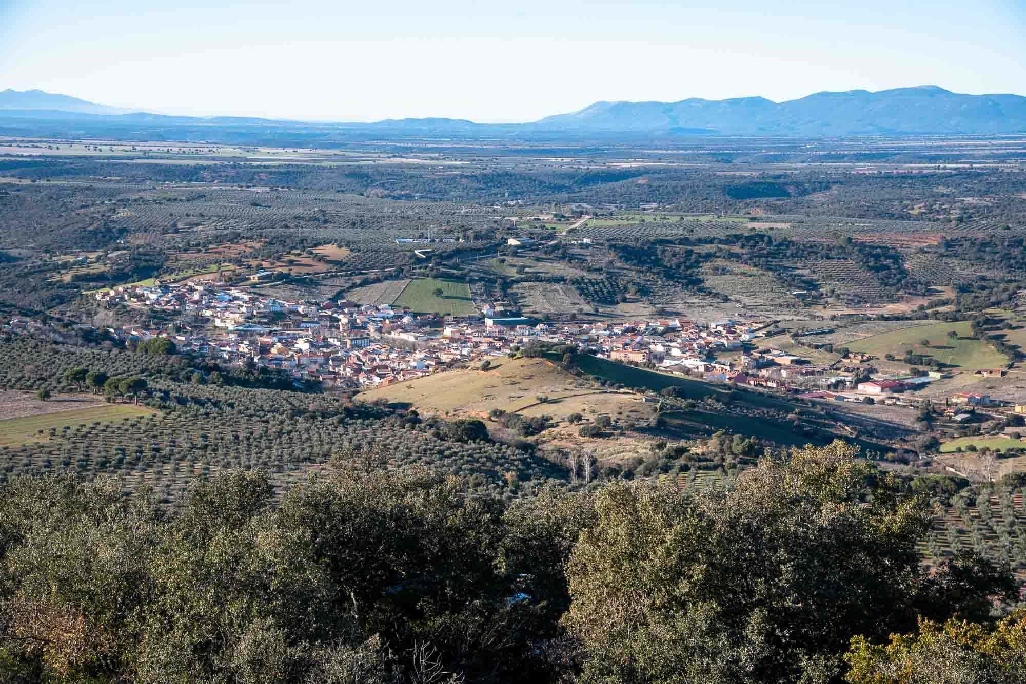 horcajo Panoramica cima plaza de los moros