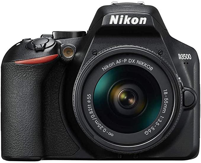 Nikon D3500 - Cámara Réflex, Kit con Objetivo 18/55, 24.2 MP, DX