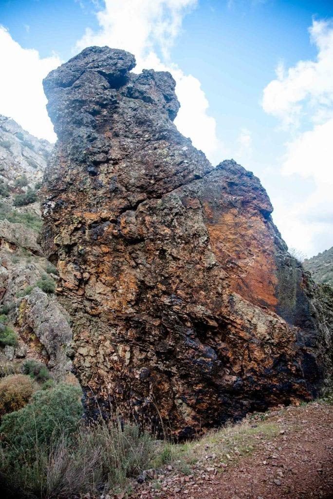torre cuarcítica boqueron del estena
