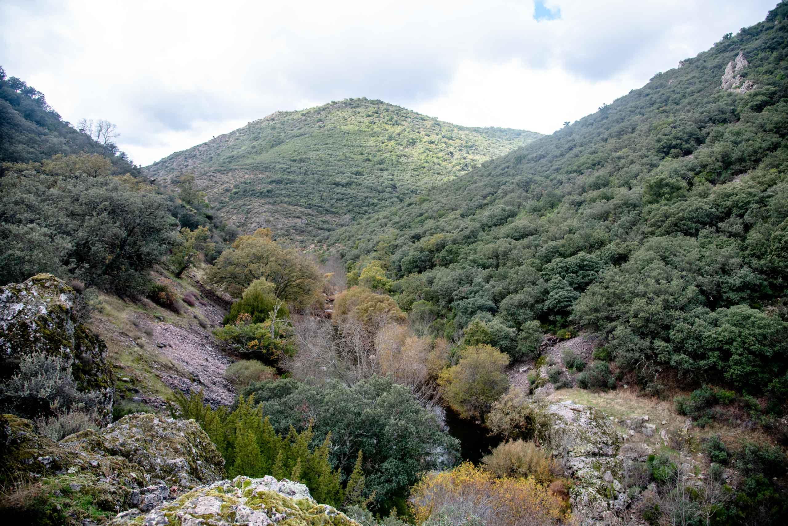 Boquerón del Estena mirador Tirapanes