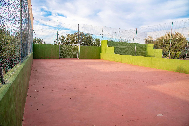 Pista de fútbol indoor