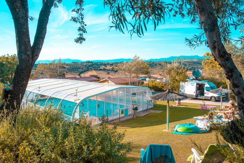 Camping bungalows mirador de Cabañeros